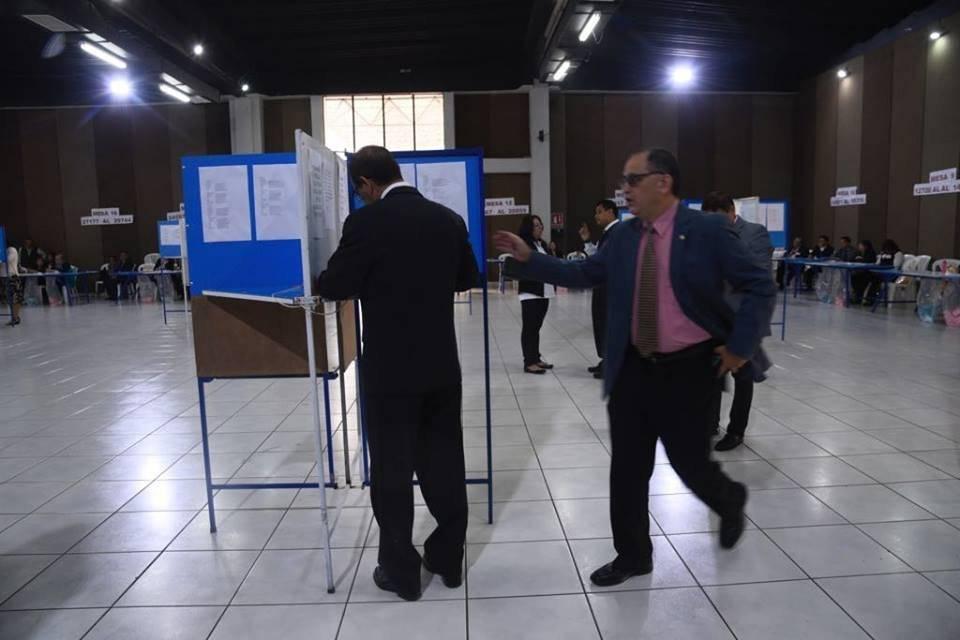 Profesionales del derecho eligen autoridades gremiales. Foto: Omar Solís