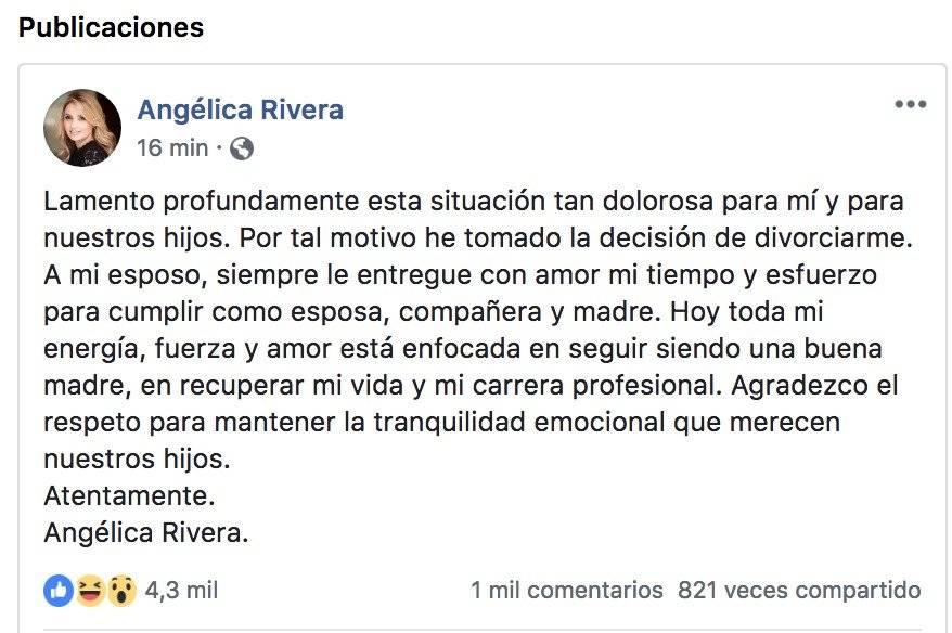 Angélica Rivera y Peña Nieto