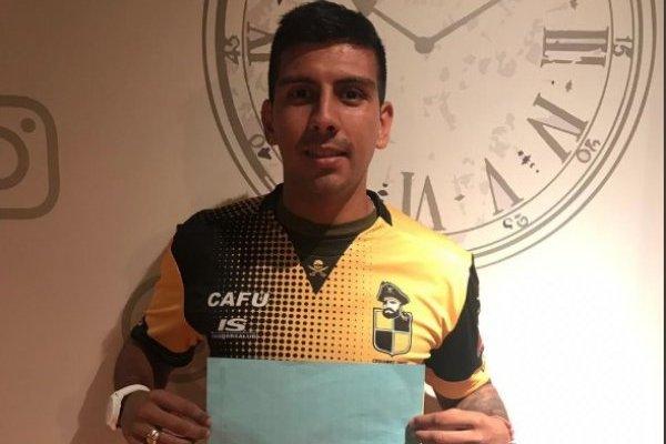 Gerardo Navarrete es uno de los tres refuerzos que fueron oficializados este viernes en el cuadro Pirata. / Coquimbo Unido Oficial