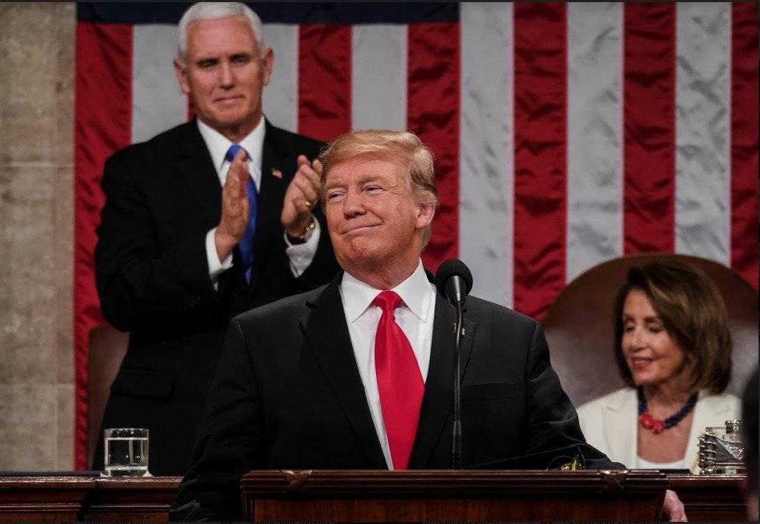 Corbata de Donald Trump