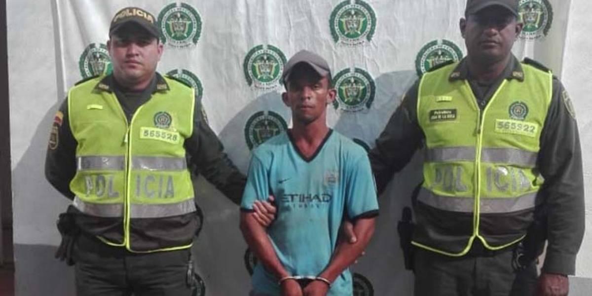 Lo capturan acusado de quitarle la vida a su esposa a garrotazos