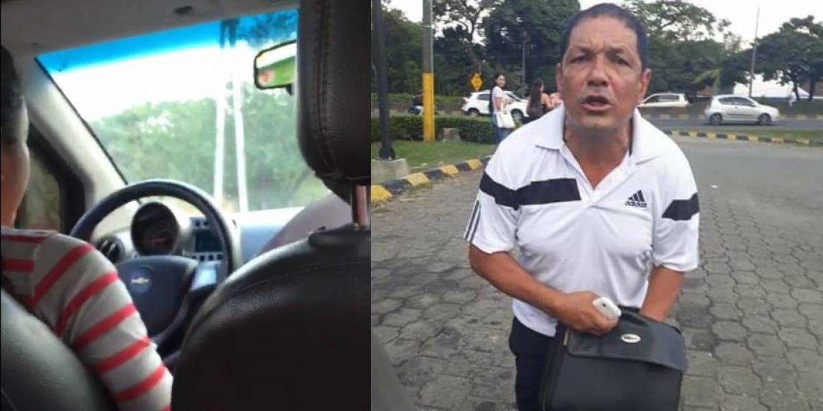 Video: los insultos de un hombre a conductora de transporte informal