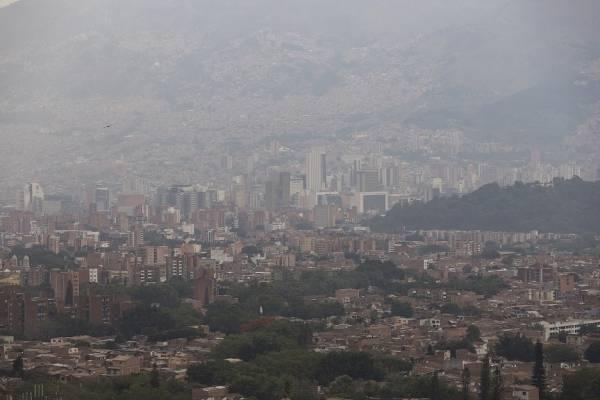 Contaminación del aire Medellín 2019