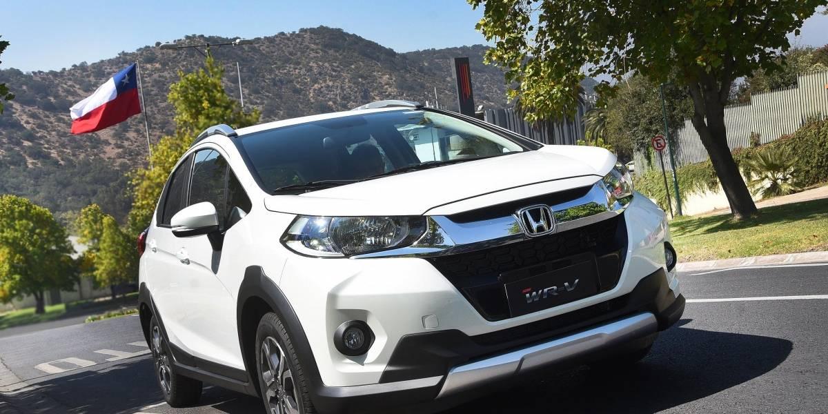 Una versión tope de línea incorpora Honda al WR-V