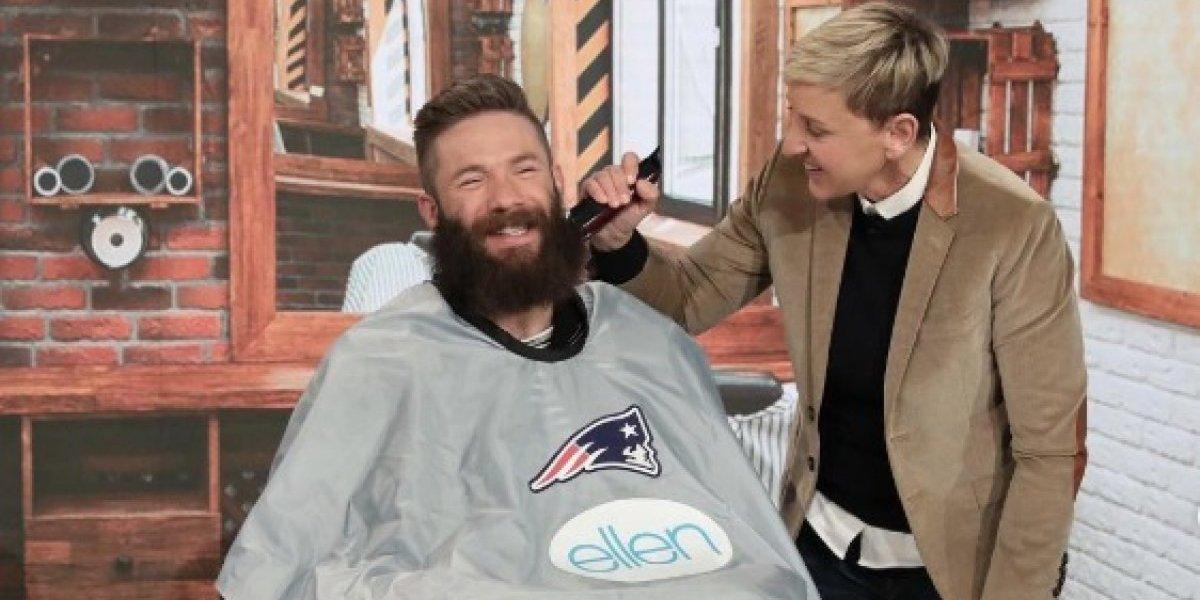 El generoso motivo por el que Julian Edelman perdió su emblemática barba