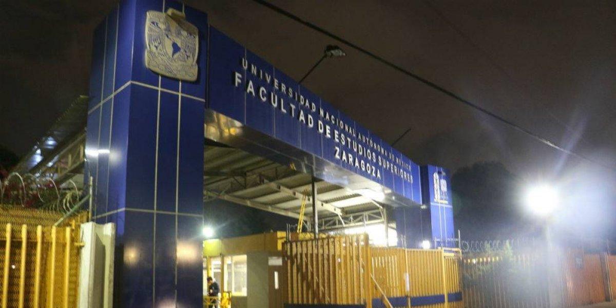 Balean a dos alumnos en la FES Zaragoza de la UNAM