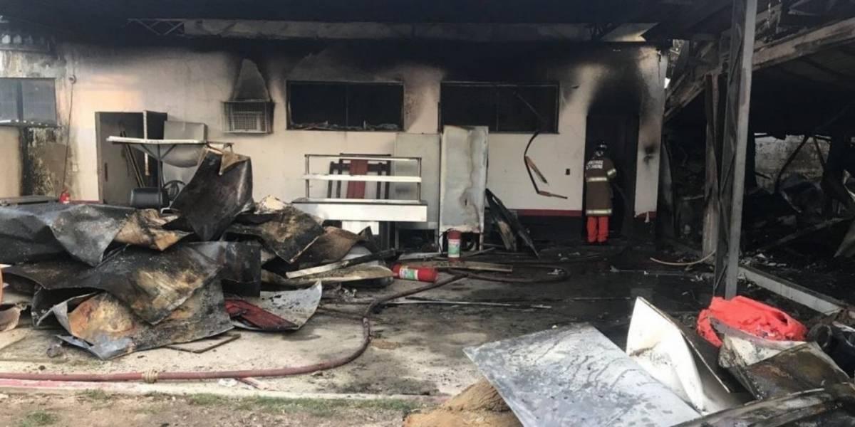 Incendio en centro de entrenamiento de Flamengo deja 10 muertos