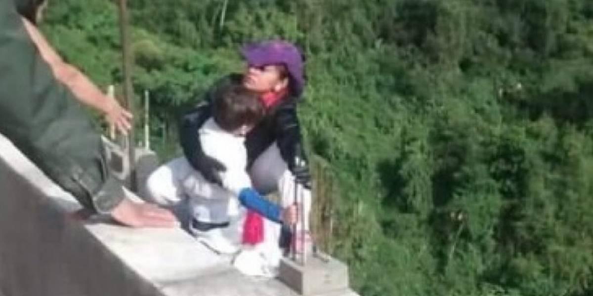Ibagué: Otro hombre se suicidó en puente del que mujer se lanzó con su hijo