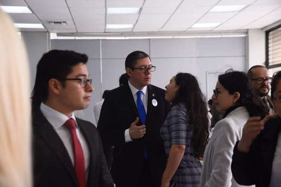 Ovidio Orellana encabeza la planilla 2 para presidir el CANG. Foto: Omar Solís
