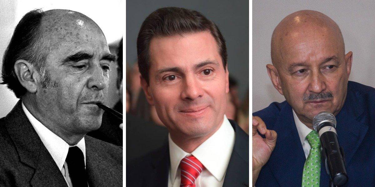 Enrique Peña Nieto y otros presidentes que se han divorciado