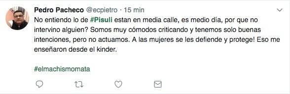 Reacciones tras el asesinato de mujer en Pisulí