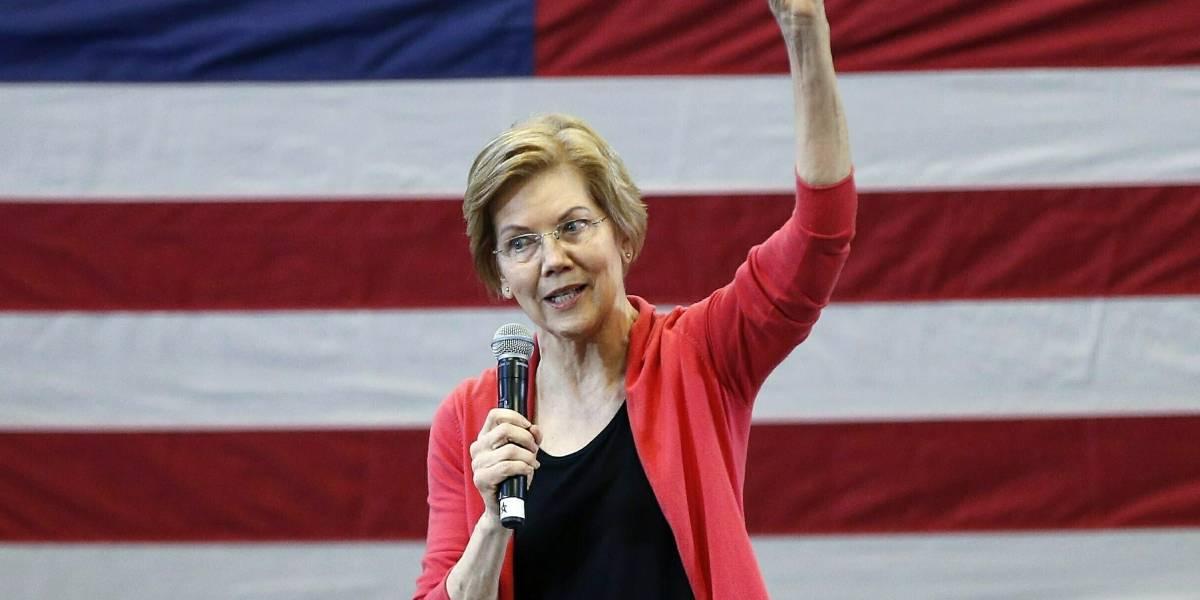 Trump se burla de Elizabeth Warren