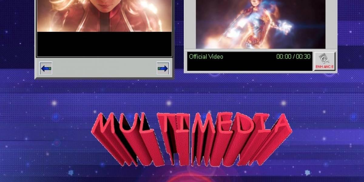 Marvel: La página web de Captain Marvel es una carta de amor a los 90's