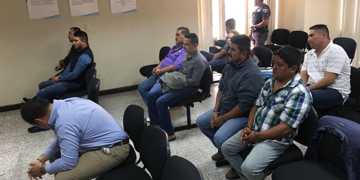 """Juzgado envía a prisión a siete sospechosos en el caso """"Narcotráfico y política"""""""