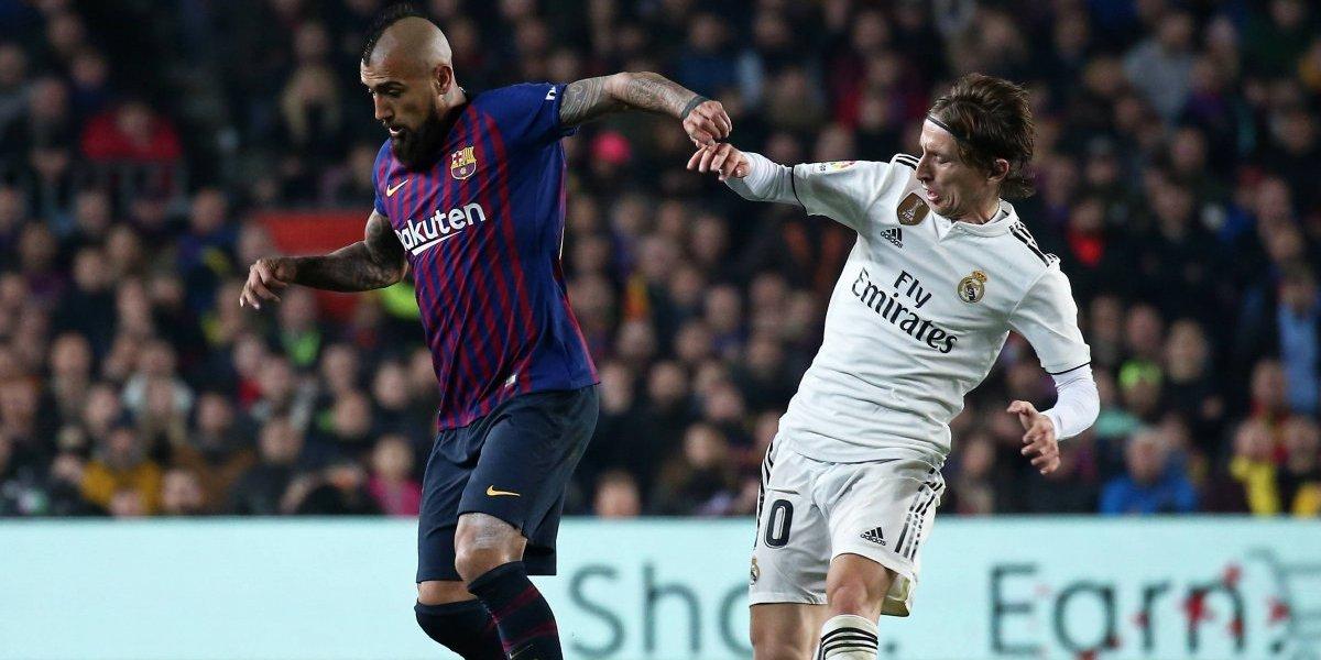 Así vivimos el triunfazo del Barcelona de Vidal sobre Real Madrid en la Copa del Rey