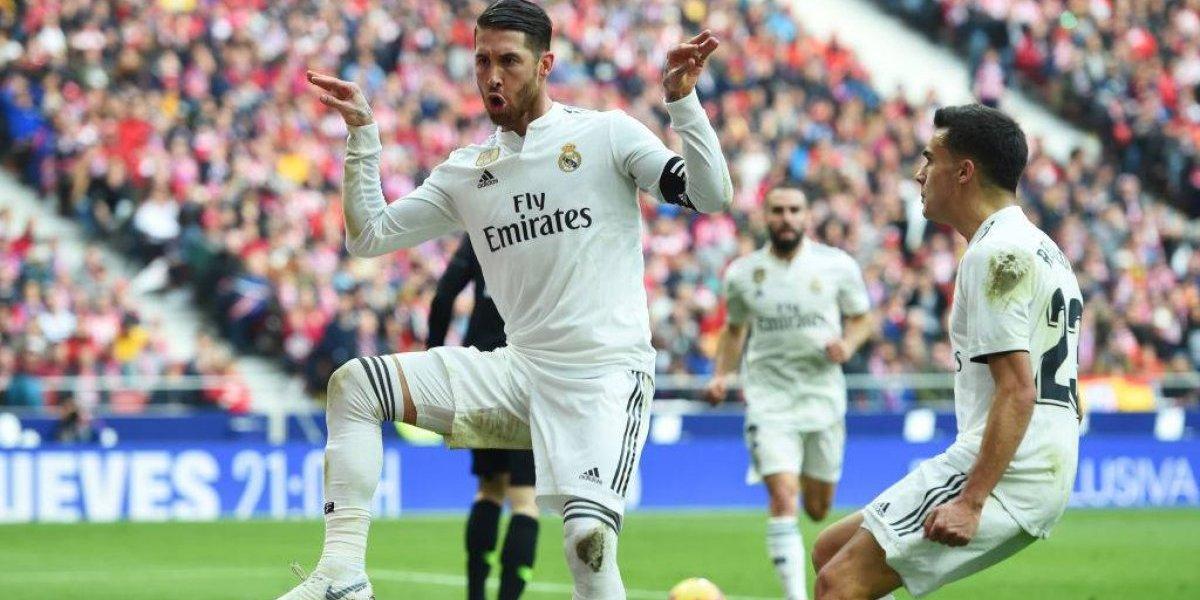 """Con el VAR y """"ratas"""" incluidas: Real Madrid le ganó un polémico derbi al Atlético como visitante"""