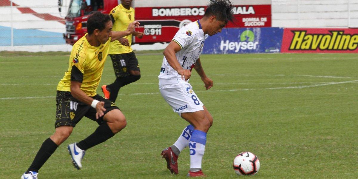Liga pro Ecuador: Los cetáceos vencen 2-0 a Fuerza Amarilla