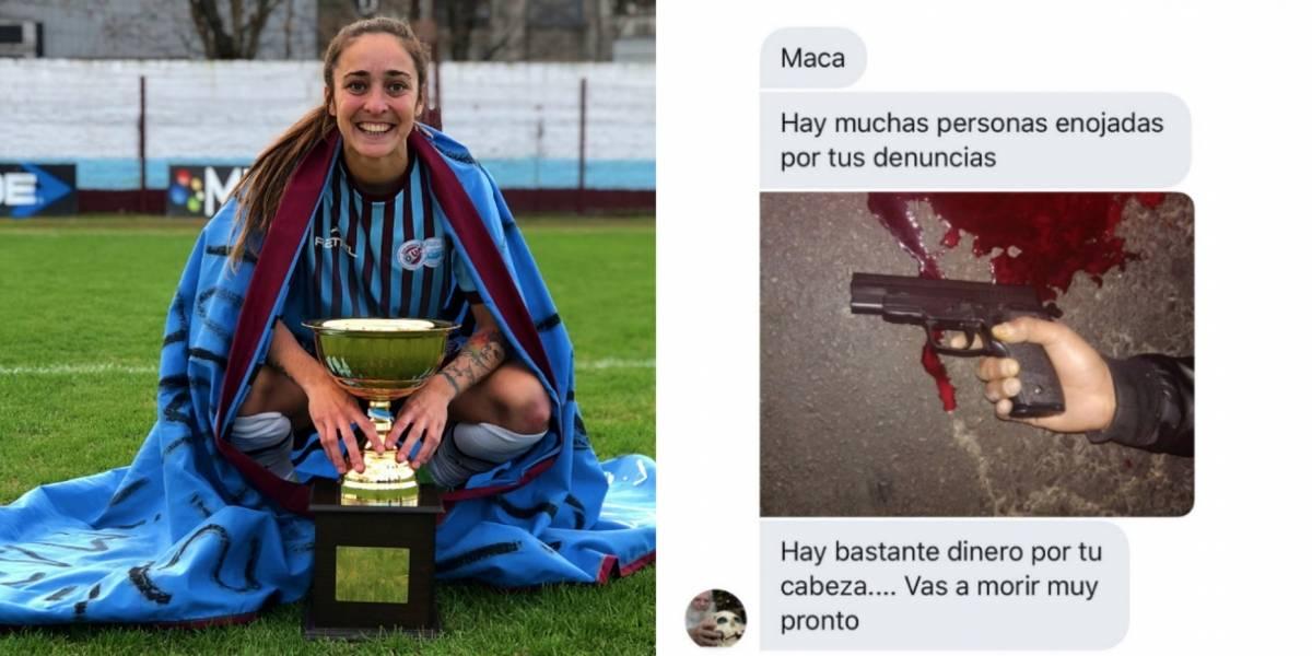 Jugadora argentina recibió amenazas de muerte a través de redes sociales