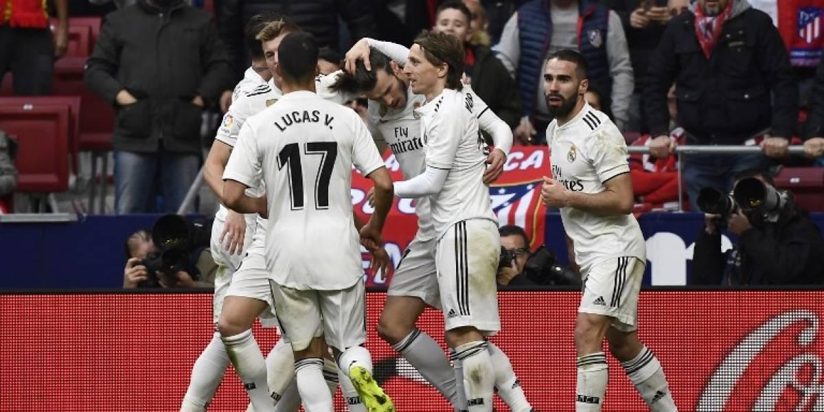 El Madrid se lleva el derbi y es segundo en La Liga