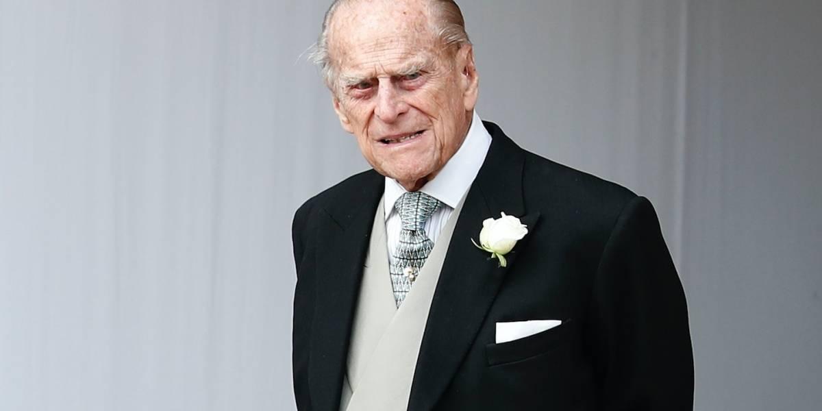 Príncipe Felipe sale del hospital para la Navidad