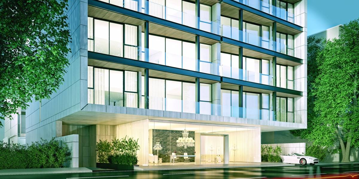 Lujo y exclusividad en un nuevo edificio de Polanco