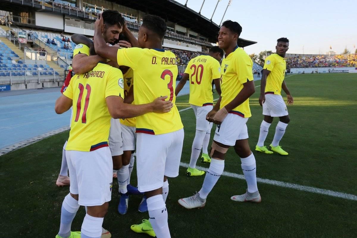Selección de Ecuador Sub 20 EFE