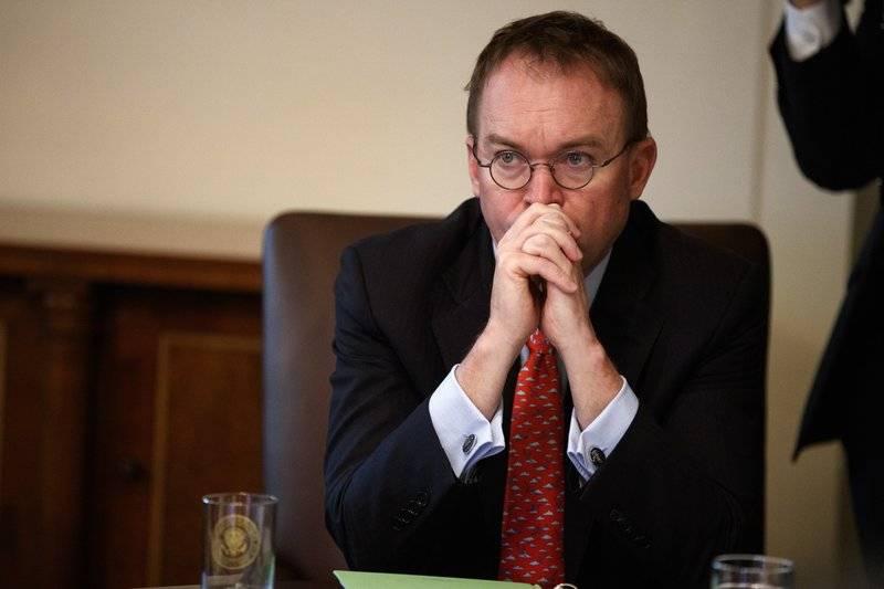 Mick Mulvaney, jefe interino de despacho de la Casa Blanca. (AP Foto/Evan Vucci, archivo)