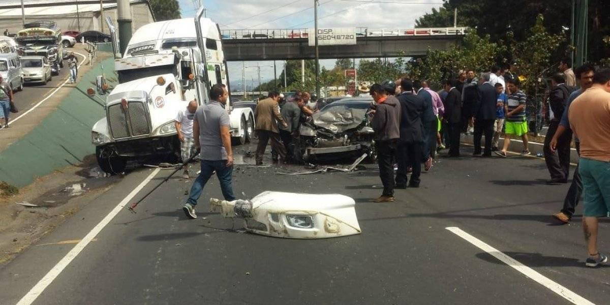 Los accidentes de tránsito son la segunda causa de muerte a nivel nacional