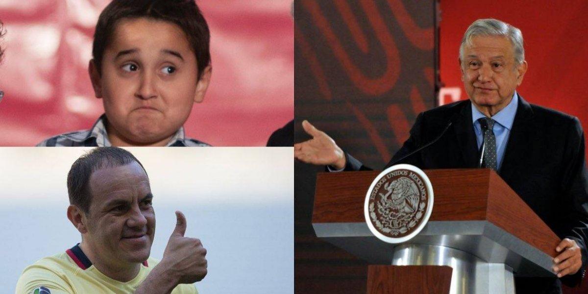 AMLO manda 'mensajito' a su hijo y al 'Cuau' previo al clásico capitalino