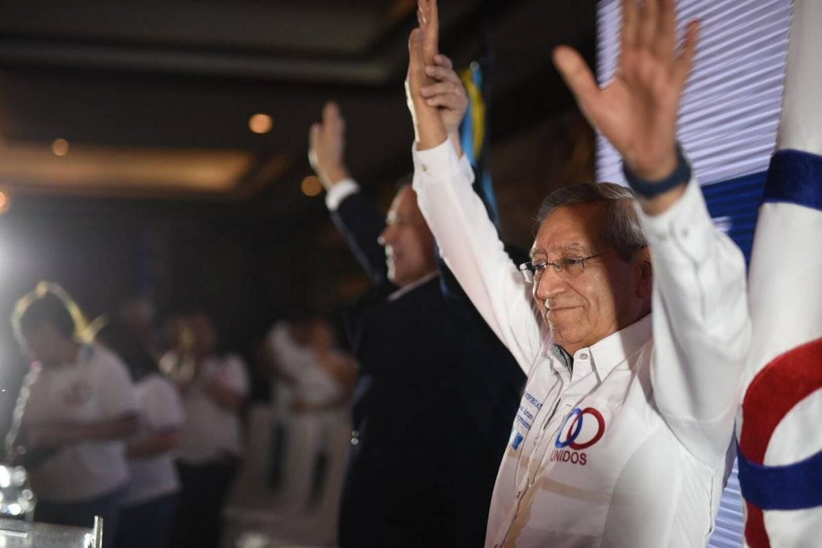 Manuel Arturo Soto es el candidato a la vicepresidencia por el partido Unidos. Foto: Edwin Bercián