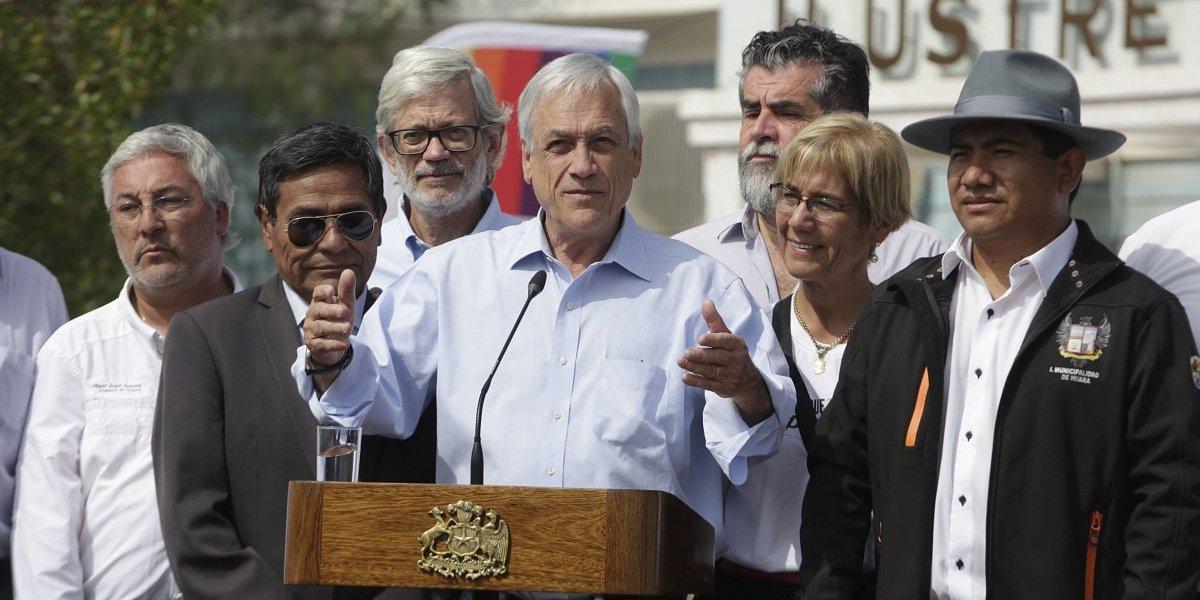Catástrofe en el norte: Presidente Piñera cifra en $60 mil millones la reconstrucción por daños del invierno altiplánico