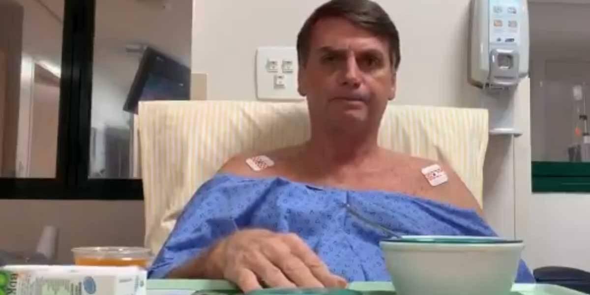 'Se Deus quiser, esta semana terei alta', torce Bolsonaro