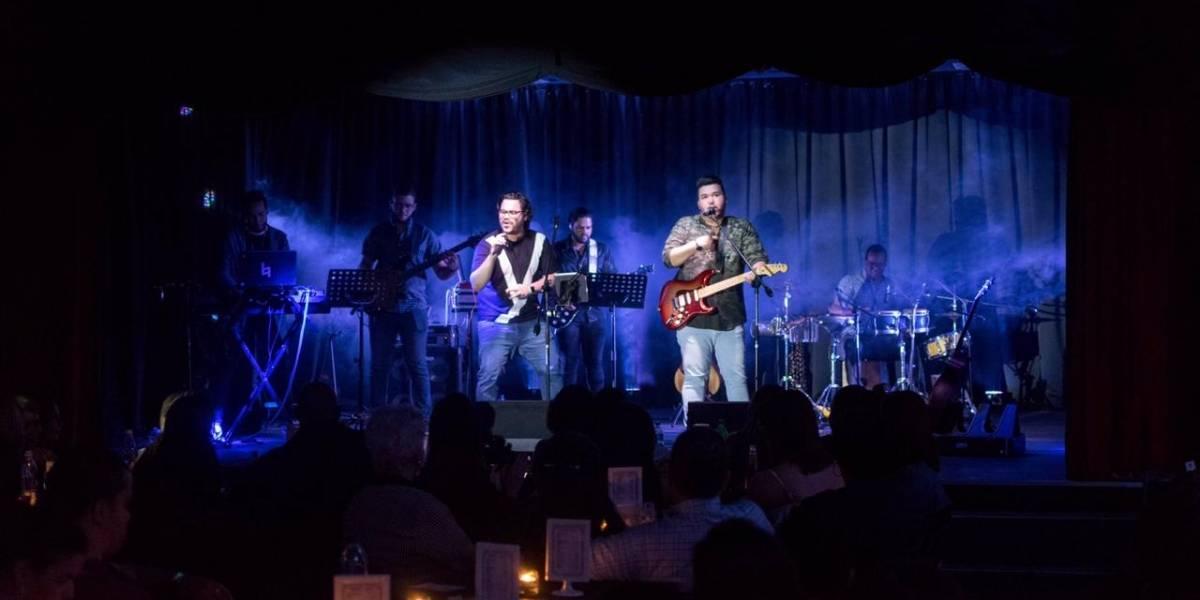 Agrupación Be Crazy realizó concierto Chao Café Teatro