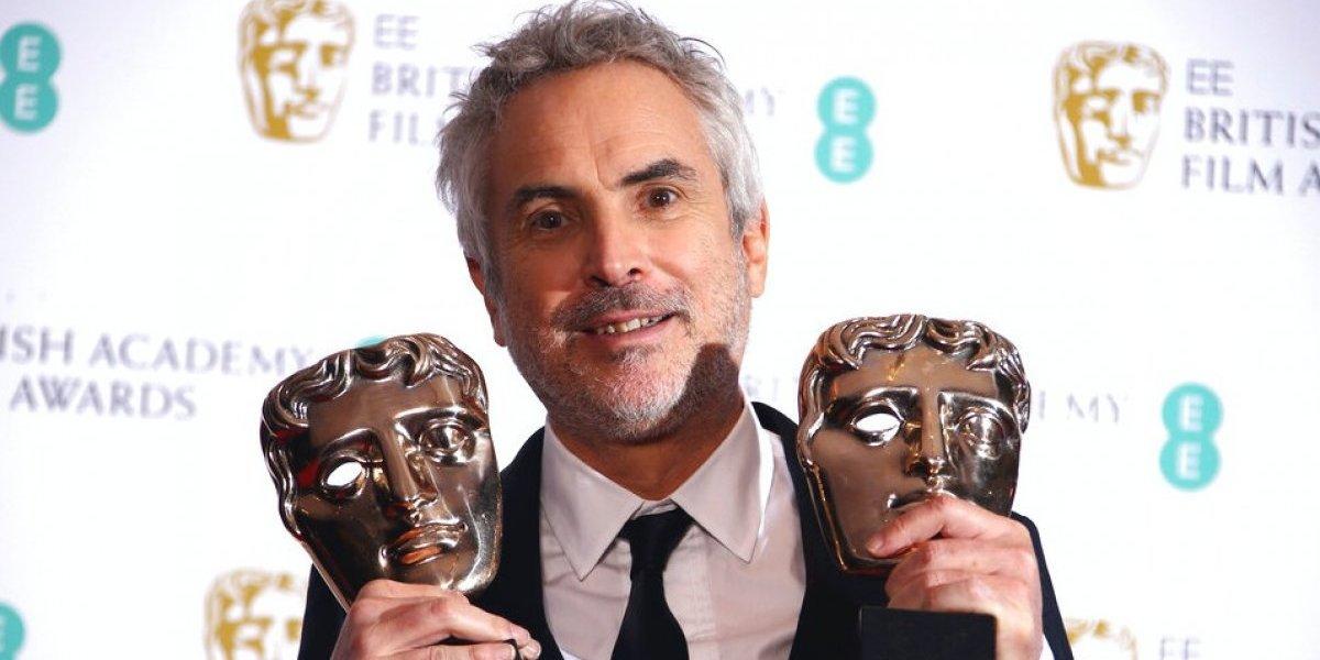 """Premios Bafta distinguieron lo mejor: """"Roma"""" y Cuarón triunfan en el Oscar británico"""