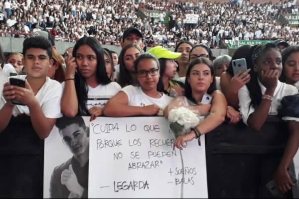 Homenaje a Legarda en Medellín