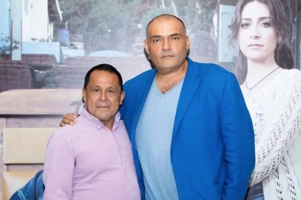 Luis Eduardo Díaz (Lucho) y Enrique Carriazo