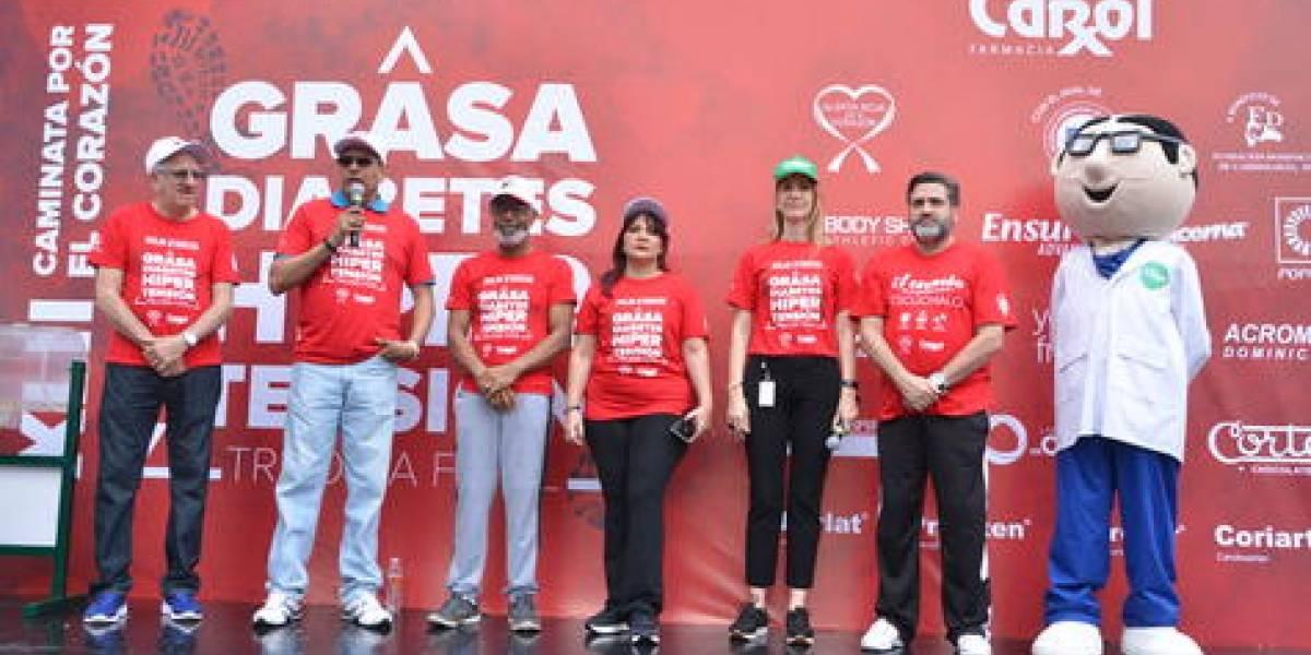 #TeVimosEn: Con el auspicio de Farmacia Carol la FDC celebró la XLII caminata por el corazón