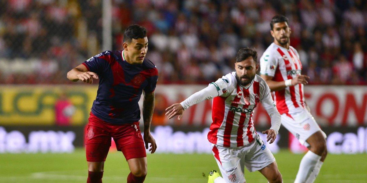 Necaxa y Chivas reparten puntos tras intenso partido en Aguascalientes