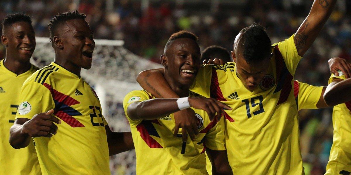 Video de los goles de Colombia vs. Uruguay en el sub 20