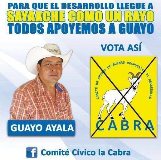 """El Comité de Amigos de Buenas Respuestas Al Desarrollo postula a """"Guayo Ayala"""". Foto: Facebook"""