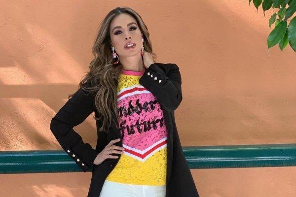 Impacta Ajustado Baño Sexy Galilea Montijo De Y Traje Con 1TlcKJF
