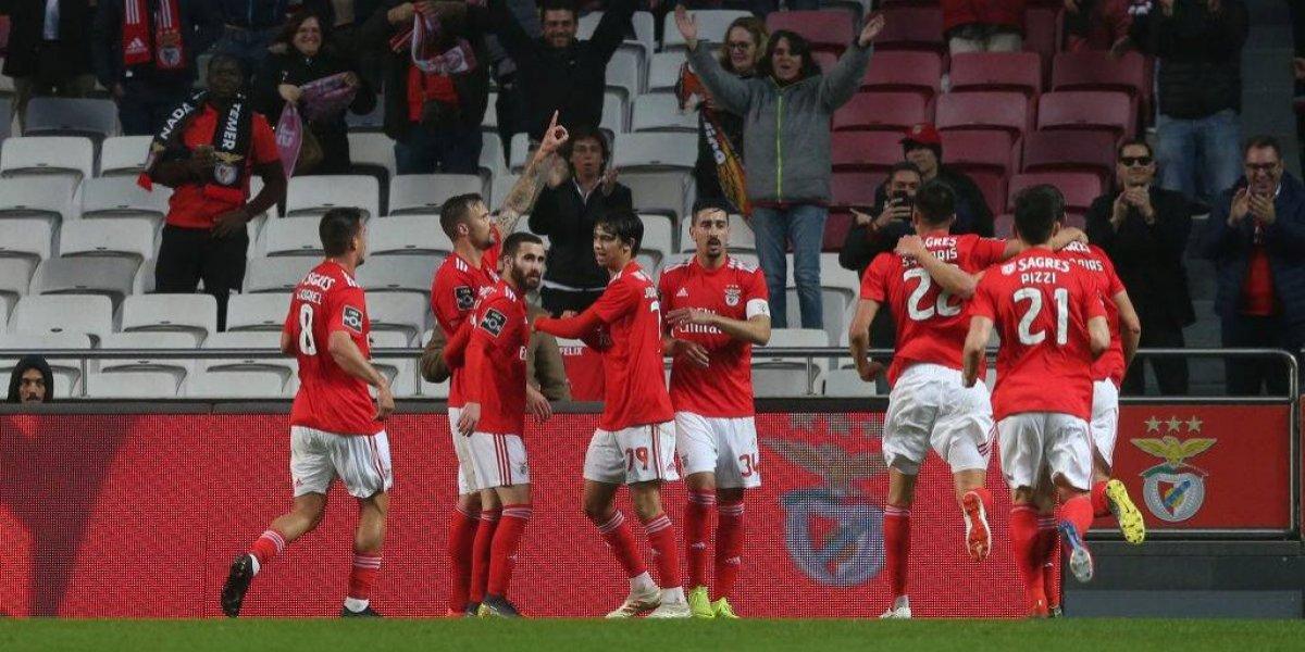 Benfica ya se olvidó de Nico Castillo y se dio un festín en Portugal al ganar 10-0 a Nacional