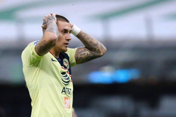 Nicolás Castillo hizo su debut por el América en la derrota de su equipo por 3-0 ante el León, válido por el Torneo de Clausura mexicano. / Getty Images