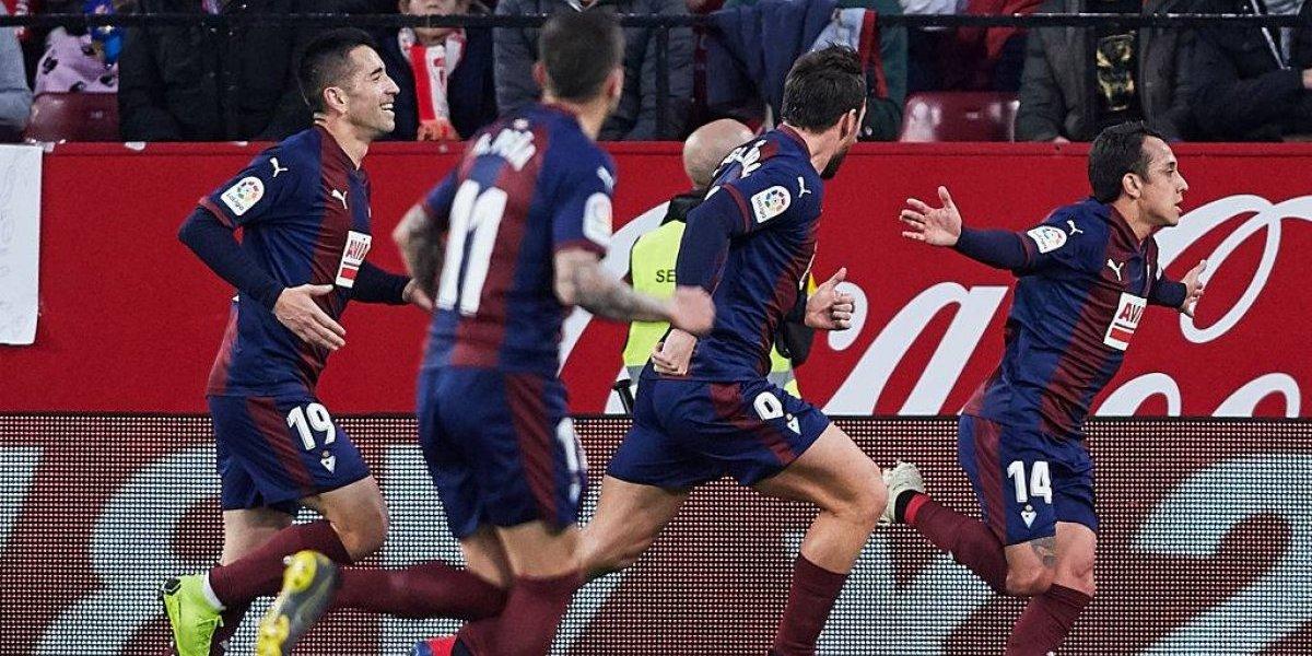 Teléfono, profe Rueda: Fabián Orellana sigue brillando en España con un golazo ante Sevilla