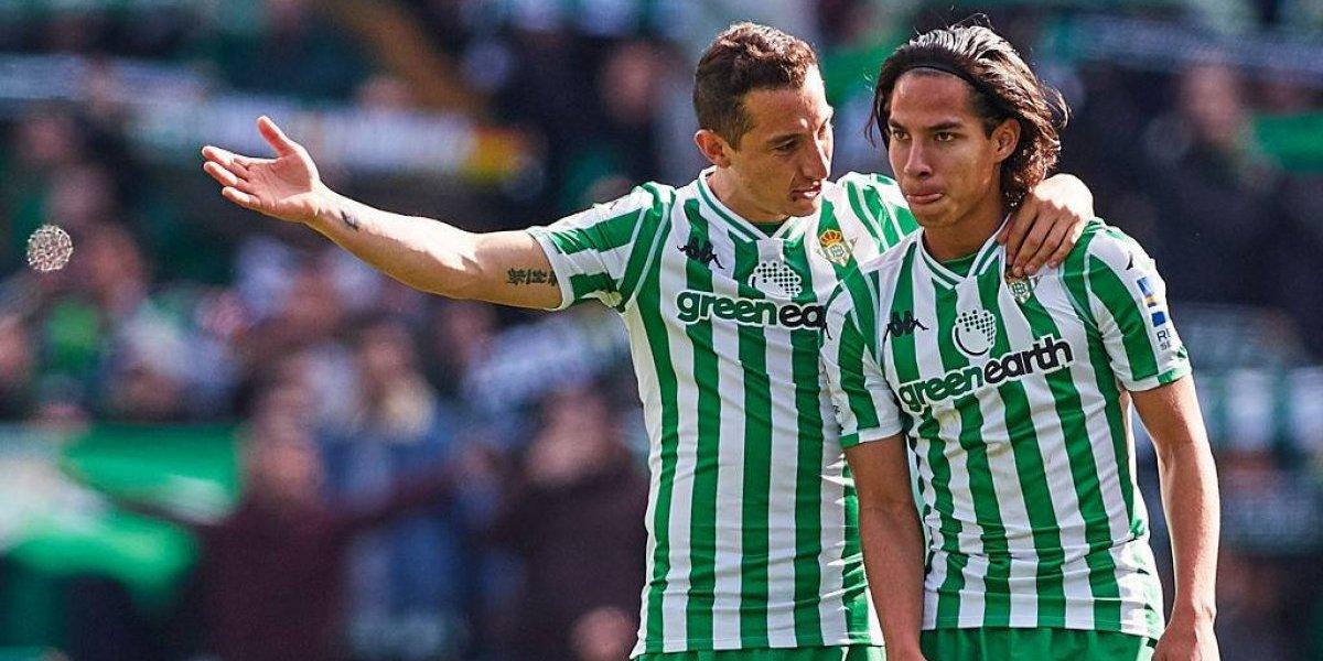 Guardado y Lainez son goleados por Leganés de Diego Reyes