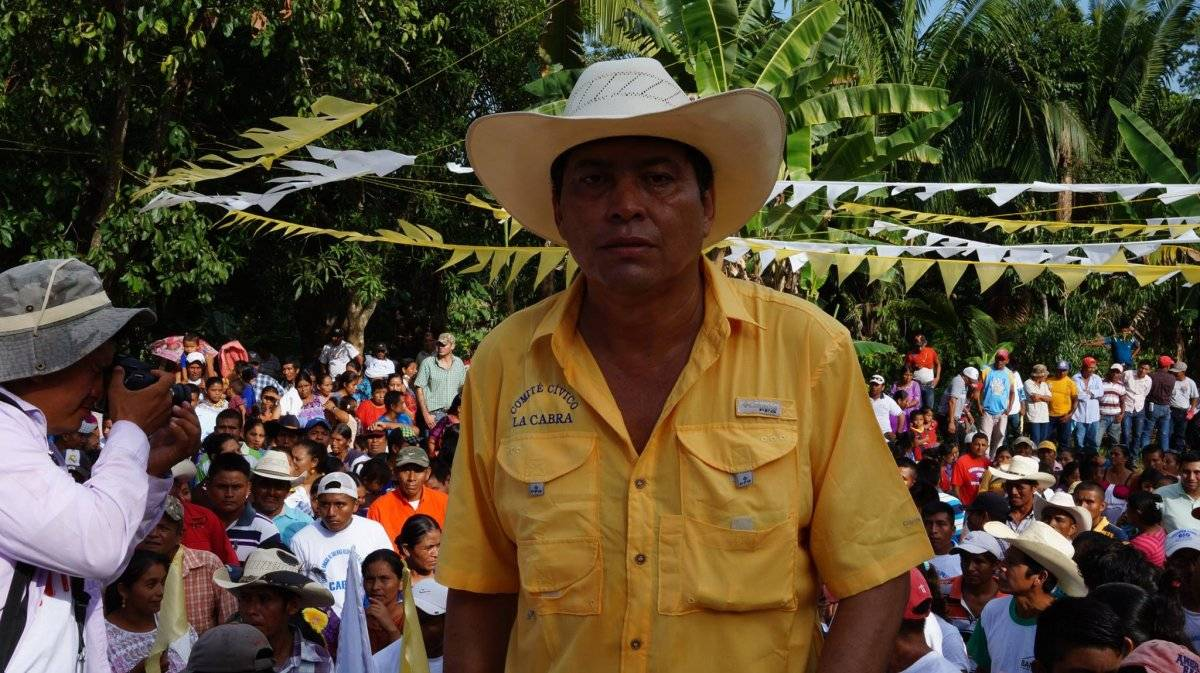"""Guayo Ayala, conocido como """"la Cabra"""", busca ser candidato a alcalde de Sayaxché, Petén. Foto: Facebook"""