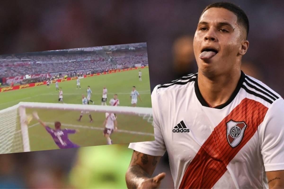 Golazo De Juan Fernando Quintero En River Plate VS