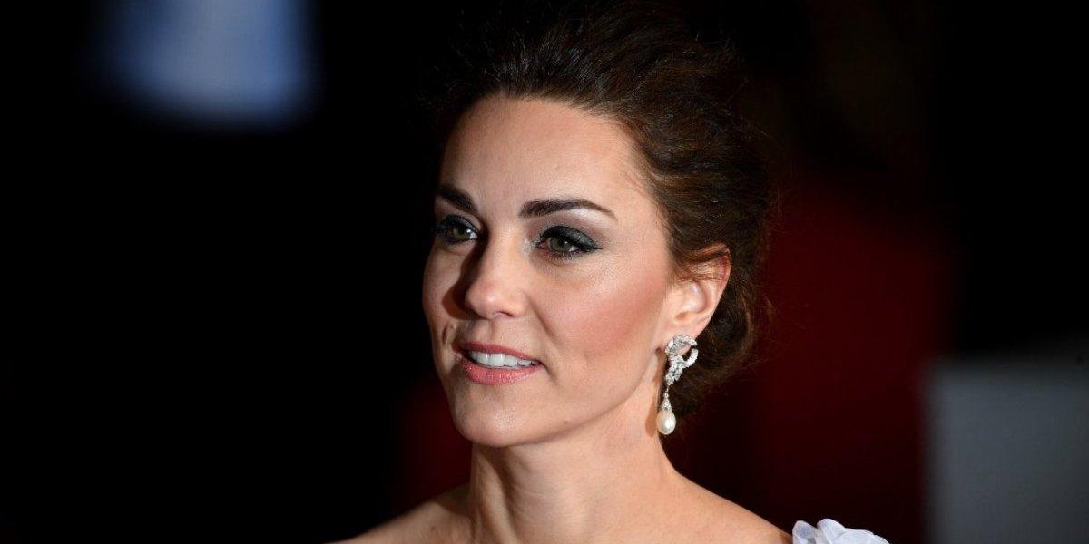 Kate Middleton se viste de novia en la gala de los BAFTA