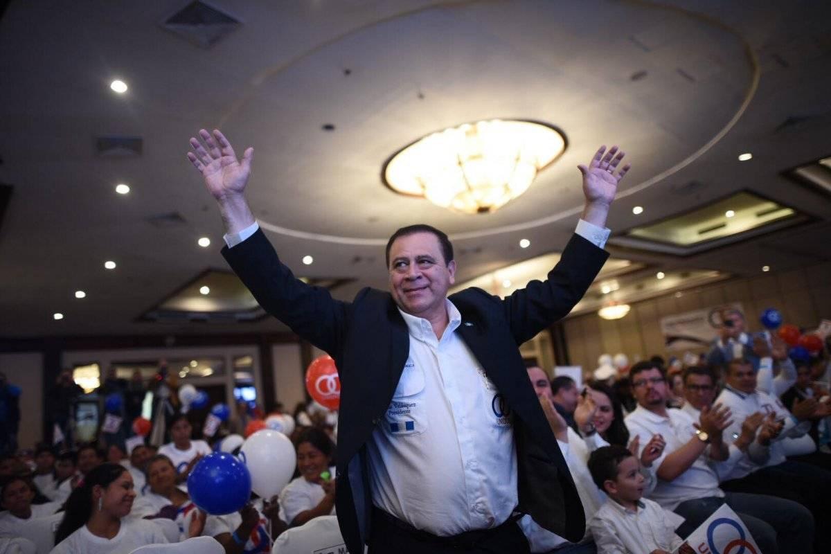 Luis Velásquez Quiroa es el candidato a presidente del partido Unidos. Foto: Edwin Bercián