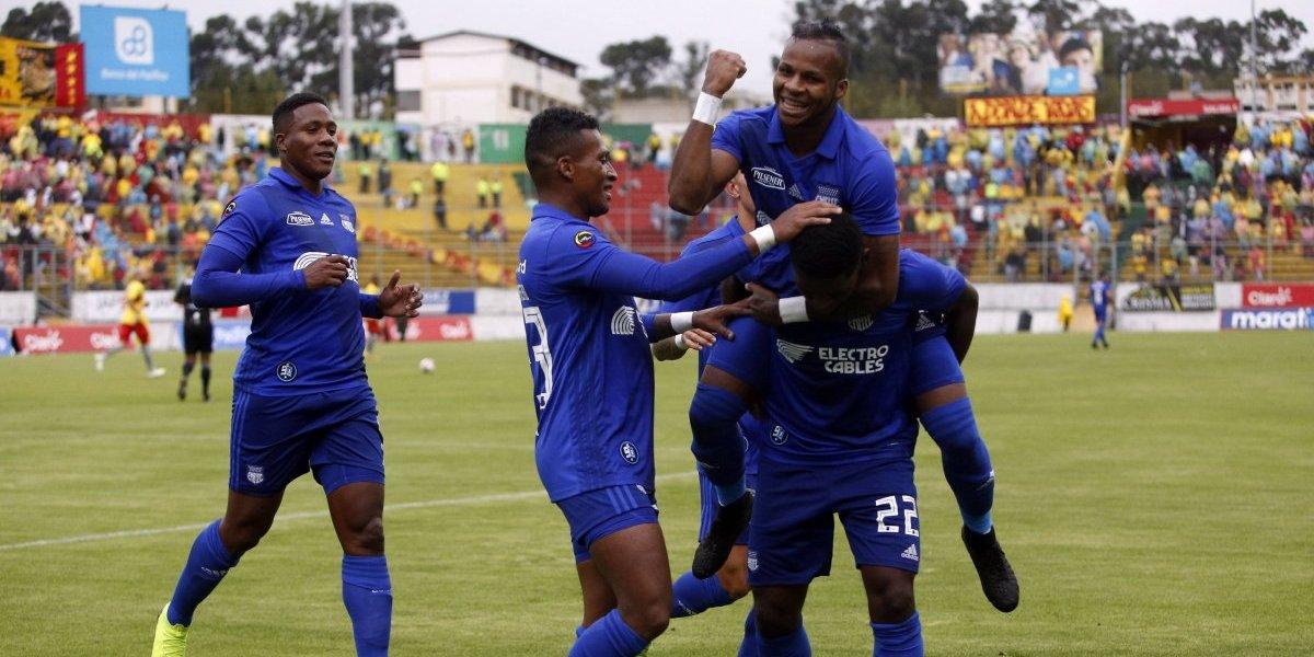 Liga pro Ecuador: Emelec sacan el triunfo de la 'Caldera del Sur'